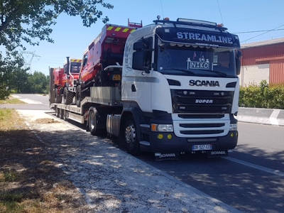 location camion porte engin